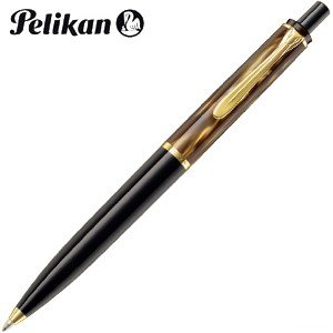 高級 ボールペン 名入れ ペリカン 予約受付中 クラシック K200 マーブルブラウン ボールペン K200 MBRW|nomado1230
