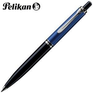 高級 ボールペン 名入れ ペリカン スーベレーン シルバートリム K405 ボールペン ブルー縞 K405 BL|nomado1230