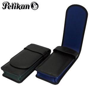 ペンケース 革 名入れ ペリカン TGペンシース 3本用 グリーン TG-32N|nomado1230