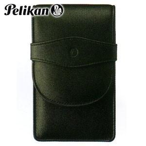ペンケース 革 名入れ ペリカン レザー ペンケース 5本用 ブラック TG-51|nomado1230