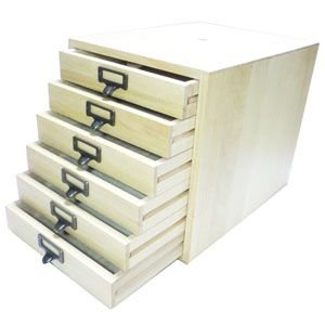書類ケース 木製 A4 武周木工 6段引き出し A4書類 BSSYO6A4|nomado1230|03