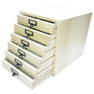 書類ケース 木製 A4 武周木工 6段引き出し A4書類 BSSYO6A4|nomado1230|04