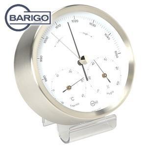 インテリア バリゴ(BALIGO) 温湿気圧計 シルバー BG 317|nomado1230