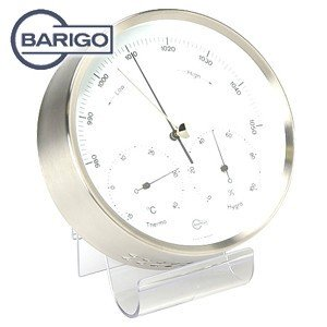 インテリア バリゴ(BALIGO) 温湿気圧計 シルバー BG 332|nomado1230
