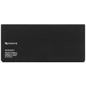 ノート メタフィス ブランクシリーズ 210ミリ×90ミリ ノート 3冊セット ブラック 44112GBK|nomado1230