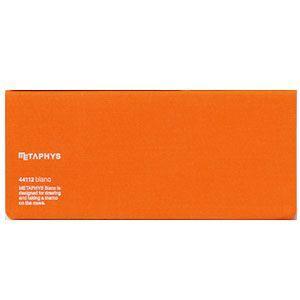 ノート メタフィス ブランクシリーズ 210ミリ×90ミリ ノート 3冊セット オレンジ 44112GOR|nomado1230