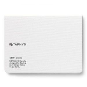 ノート メタフィス ブランクシリーズ 145ミリ×105ミリ ノート 3冊セット ホワイト 44114GWH|nomado1230