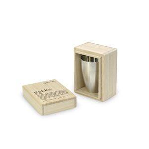 おちょこ メタフィス ゲッカ マットシルバー 錫製お猪口単品 冷酒用 2セット 63040-CC|nomado1230