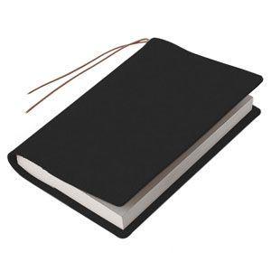 ブックカバー 革 メタフィス セバンズ 文庫用 ブックカバー ブラック 3セット 83013-BK|nomado1230