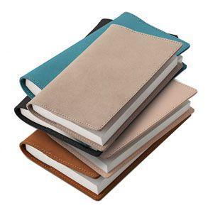 ブックカバー 革 メタフィス セバンズ 文庫用 ブックカバー グレージュ 3セット 83013-GG|nomado1230|02