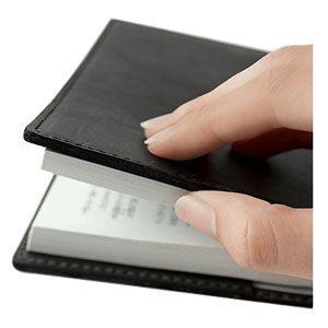 ブックカバー 革 メタフィス セバンズ 文庫用 ブックカバー グレージュ 3セット 83013-GG|nomado1230|03