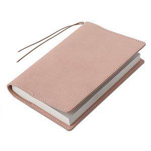 ブックカバー 革 メタフィス セバンズ 文庫用 ブックカバー ナチュラル 3セット 83013-NA|nomado1230