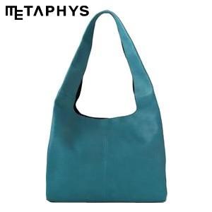 ショルダーバッグ 革 メタフィス セバンズ ショッピングレザーバッグ ブルー 84031-BL|nomado1230