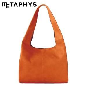 ショルダーバッグ 革 メタフィス セバンズ ショッピングレザーバッグ オレンジ 84031-OR nomado1230