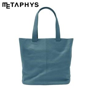 トートバッグ 革 メタフィス セバンズ トートバッグL ブルー 84042-BL|nomado1230