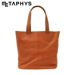 トートバッグ 革 メタフィス セバンズ トートバッグL オレンジ 84042-OR|nomado1230