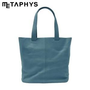 トートバッグ 革 メタフィス セバンズ トートバッグS ブルー 84043-BL|nomado1230
