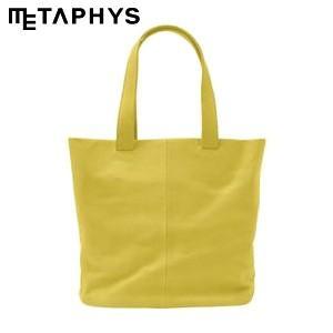 トートバッグ 革 メタフィス セバンズ トートバッグS イエロー 84043-YE|nomado1230