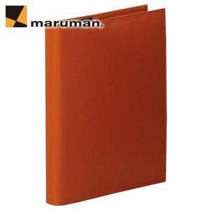 マルマンジウリスシリーズ A5 20穴 HL300 20枚入 2冊セット ファイルノート・バインダー オレンジ F289A-09|nomado1230