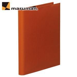 マルマンジウリスシリーズ B5サイズ 26穴 HL200 20枚入 2冊セット ファイルノート・バインダー オレンジ F509A-09|nomado1230