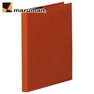 マルマンジウリスシリーズ A4サイズ 30穴 HL100 20枚入 2冊セット ファイルノート・バインダー オレンジ F988A-09|nomado1230
