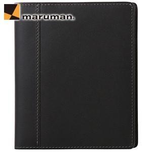 マルマン ニーモシネ×ソメスサドル B7 パスポートケース ブラック HN178PSA|nomado1230
