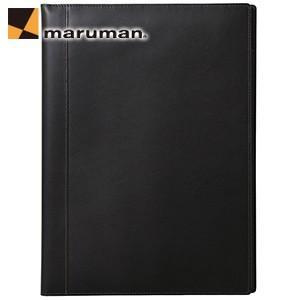 マルマン ニーモシネ×ソメスサドル A4 ノートパッドホルダー ブラック HN187LA|nomado1230