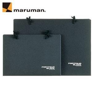 ポートフォリオ B3 マルマンB3 ポートフォリオ 黒 20冊セット PF956|nomado1230