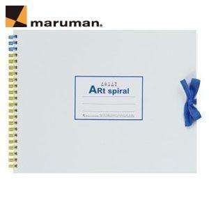 マルマンアートスパイラルシリーズ ツインワイヤとじ F2サイズ 10冊セット スケッチブック イエロー S312-04|nomado1230