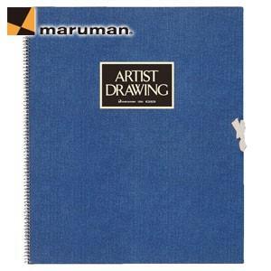 マルマンアーチストメダリオン F8サイズ 20枚入 5冊セット スケッチブック ブルー S58A-02|nomado1230