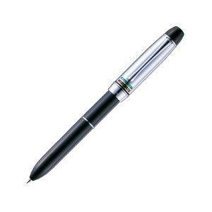 ネームペン 名入れ 三菱鉛筆 Bネーム 印鑑付きダブルペン ネームペン 黒 SHW-2051.24|nomado1230