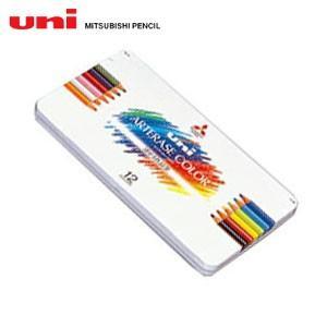 色鉛筆 三菱鉛筆 ユニ アーテレーズカラー 12色入り 色鉛筆 UAC12C|nomado1230