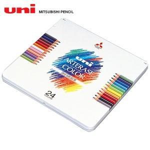 色鉛筆 三菱鉛筆 ユニ アーテレーズカラー 24色入り 色鉛筆 UAC24C|nomado1230