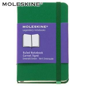 ノート 横罫 モレスキン カラーノートブック XS ルールド 横罫 グリーン ノートブック No. 404674|nomado1230