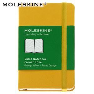 ノート 横罫 モレスキン カラーノートブック XS ルールド 横罫 イエロー ノートブック No. 404698|nomado1230