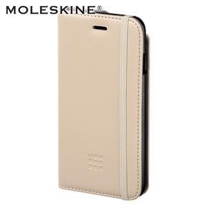 モレスキン iPhone6s Plus / iPhone6 Plus 専用 手帳型 ケース カーキベージュ|nomado1230