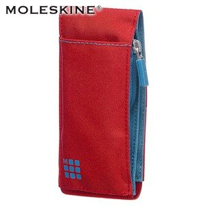 ペンケース モレスキン ノートブックツールベルト ポケットサイズ スカーレットレッド No. 401529|nomado1230