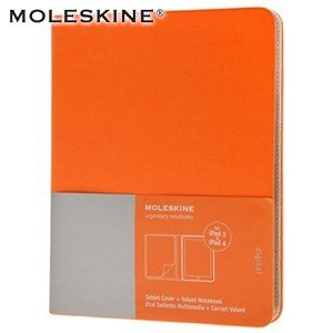 iPad ケース モレスキン iPad3&4用 タブレットカバー オレンジ 送料・代引き手数料別 No. 402960|nomado1230