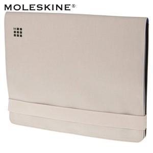 パソコンバッグ モレスキン myCloud 13インチ ラップトップケース カーキベージュ 送料・代引き手数料別 No. 403387|nomado1230