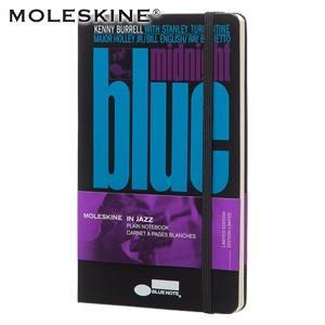 モレスキン ブルーノート ラージサイズ 無地 ノートブック ブラック|nomado1230