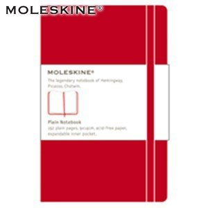 ノート 無地 モレスキン クラシックノートブック Large プレーン 無地 ハードカバー レッド No. 404384|nomado1230