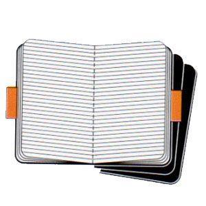 ノート 横罫 モレスキン カイエ ジャーナル Pocket ルールド 横罫 ブラック 3冊セット No. 405817|nomado1230|02