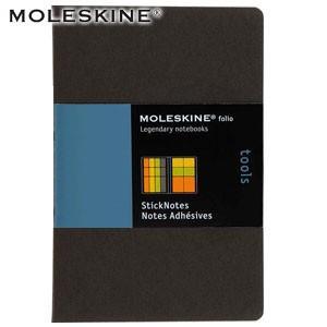 モレスキン フォリオコレクション プロフェッショナル 付箋セット フルカラー 5冊セット PFPTXA02JP|nomado1230