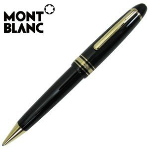 高級 ボールペン 名入れ モンブラン モンブラン純正包装紙にてラッピング可能 マイスターシュテュック クロ ボールペン 161 MB10456 10456|nomado1230