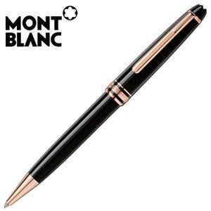 高級 ボールペン 名入れ モンブラン モンブラン純正包装紙にてラッピング可能 マイスターシュテュック レッドゴールドコーティング クラシック ボールペン|nomado1230