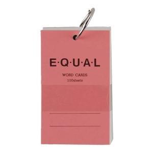 単語帳 ライフ イコール 5×3サイズ 白 単語カード ピンク 5冊セット P319D|nomado1230