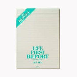 レポートパッド A4 ライフ A4サイズ 9ミリ罫 ファーストレポート 5冊セット R1|nomado1230