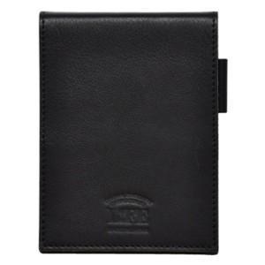 手帳カバー 革 ライフ メモカバー ブラック SA260A nomado1230