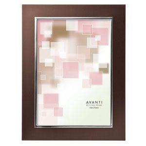 フォトフレーム 写真立て ラドンナ アバンティシリーズ AVANTI シンプルフレーム 2L判サイズ フォトフレーム ダークブラウン MA57-2L-DBR|nomado1230