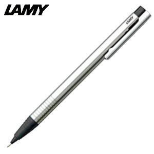シャーペン 高級 名入れ ラミー ロゴ ステンレス ペンシル ブラック L105BK|nomado1230